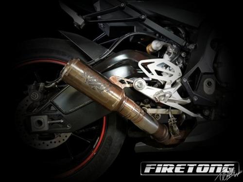 escape ponteira bmw s1000rr firetong 2010-2017