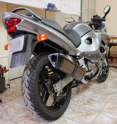 escape ponteira coyote trs tri-oval gsx 750 f 98.. pto black