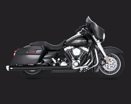 escape vance & hines monster oval 95-16 harley touring 46755