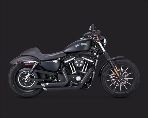 escape vance & hines short harley sportster dyna y softail