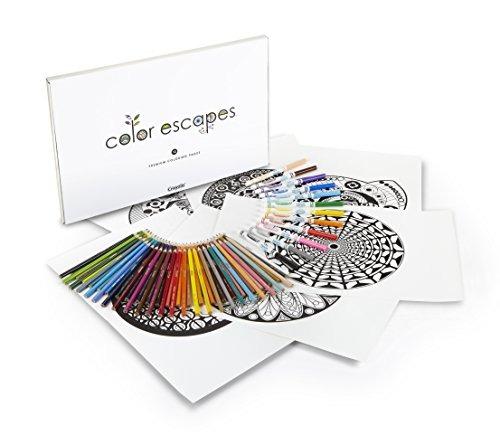 Escapes De Color De Crayola Para Colorear Páginas Y Kit - $ 153.900 ...