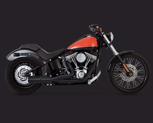 escapes vance & hines hi output harley  86-17 softail 46543
