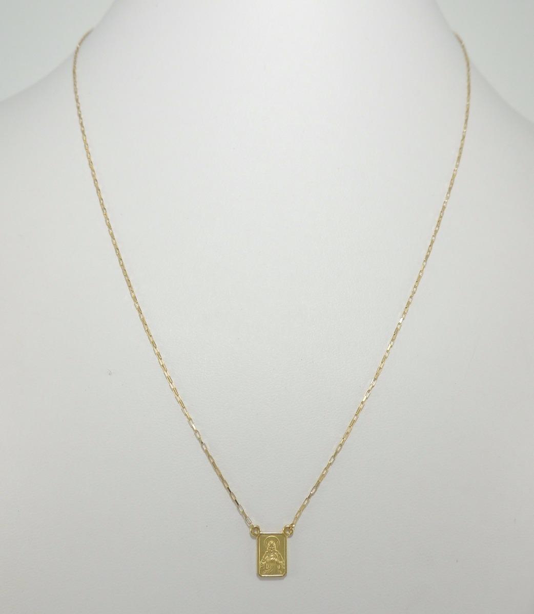 dff1d3c062169 escapulário 70cm ouro 18k cordão cartier medalhas dupla face. Carregando  zoom.