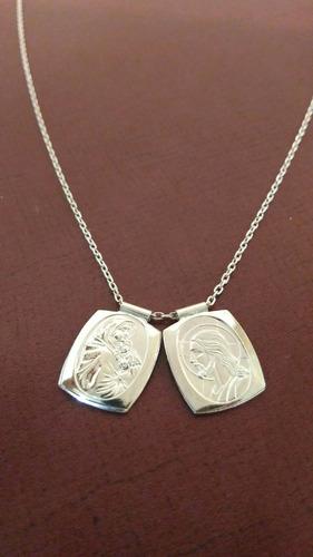 escapulario de plata 925, dama o caballero