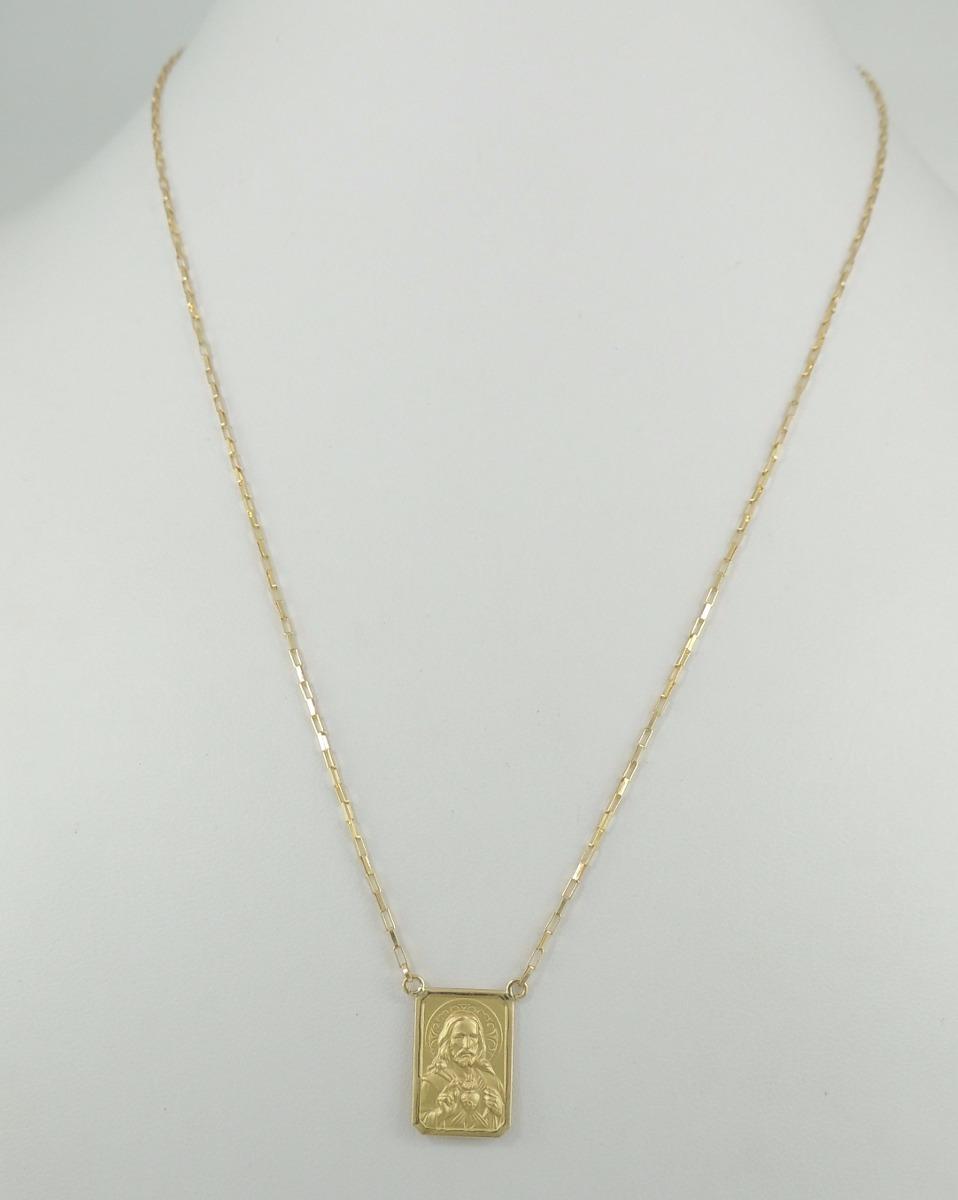 6a90ace7f04 Escapulário Elos Cartier Masculino 65 Cm Gm Ouro 18k - R  1.300