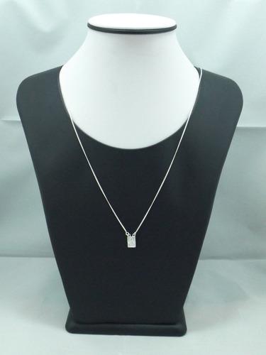 escapulário feminino prata 925 porta jóias e limpador grátis