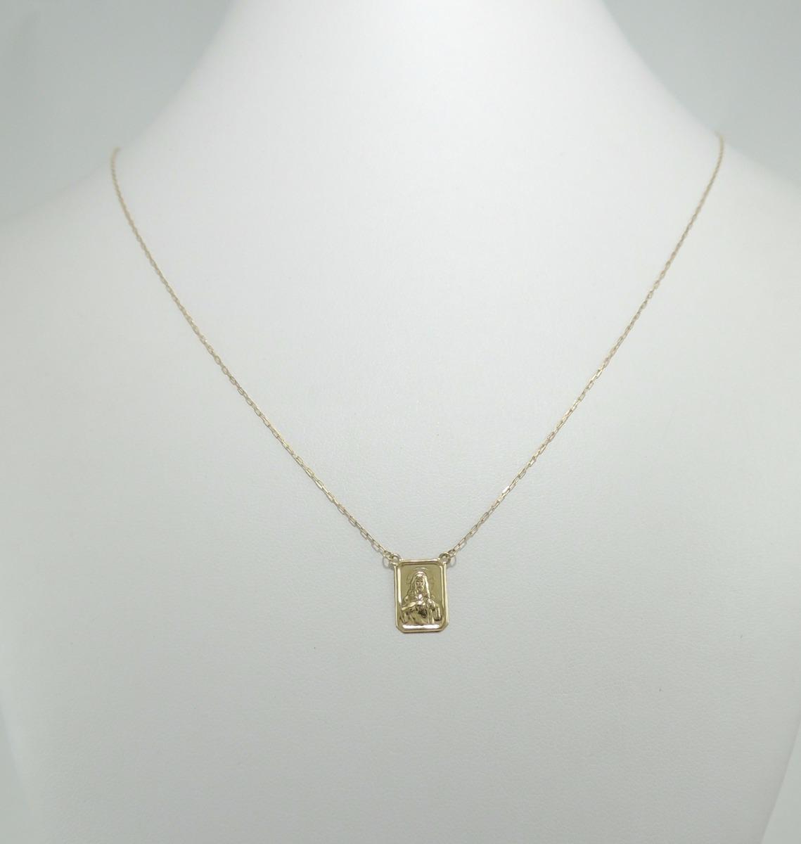 cd5b9d8d1f28a escapulário masculino 65 cm 11 8 ouro 18k 750 cordão cartier. Carregando  zoom.
