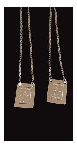 escapulário masculino prata 925 italiana 65cm