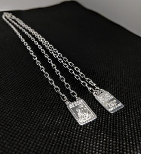 escapulário prata elo