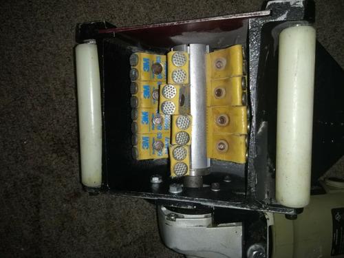 escarificadora manual eléctrica