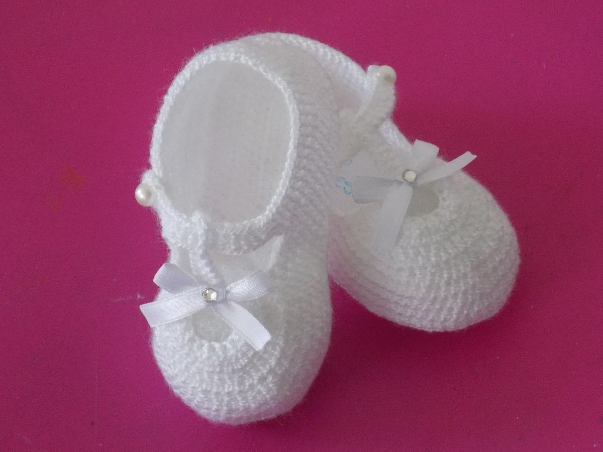 bce36d144 Escarpines Tejidos Para Bebe. Zapatos Para Bebe. - $ 25.000 en ...