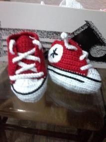 Zapatos Tejido Crochet Para Converse Escarpines Bebes Adidas 35jRLA4q