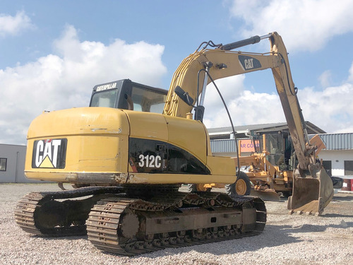 escavadeira caterpillar 312cl- 2007= cat,volvo,retro,313cl