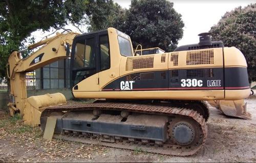 escavadeira caterpillar 330cl me(mass excavator) ano 2005