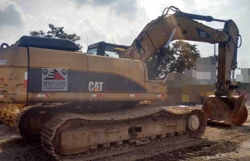 escavadeira caterpillar 330dl - ano 2007 - c/ 16.690 hrs