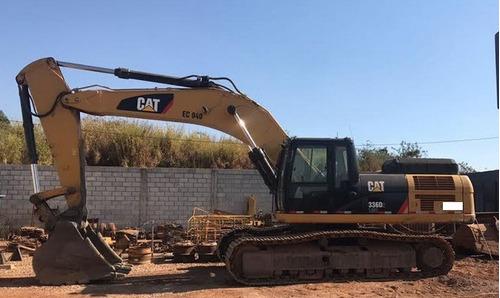 escavadeira caterpillar 336dl me ano: 2014