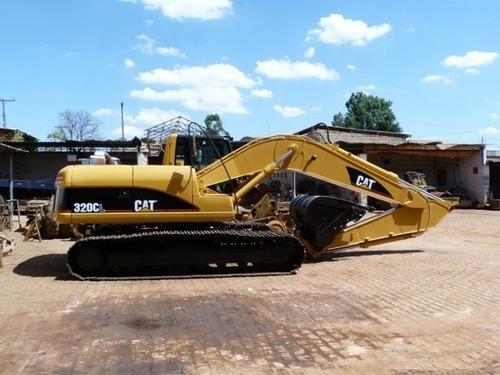 escavadeira cl 320 caterpillar ano 2012/13 (ler descriçao)