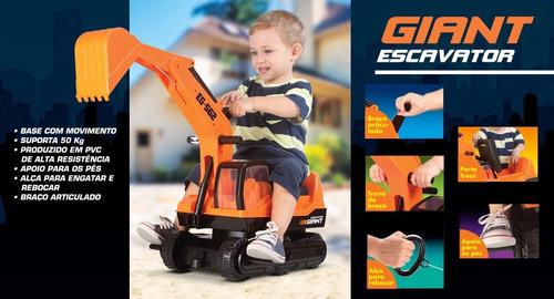 escavadeira gigante infantil giant escavator frete gratis