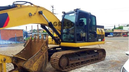 escavadeira hidráulica caterpillar 320 d ano 2012
