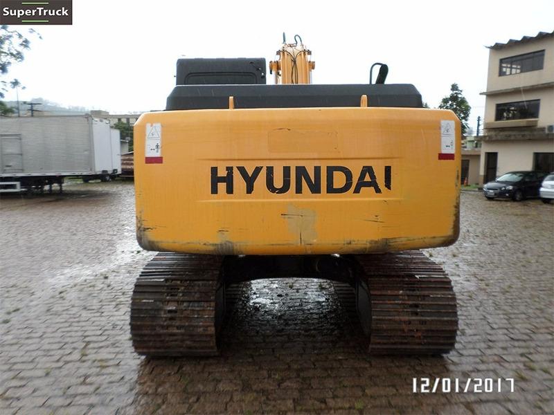 escavadeira hidráulica hyundai r 160lc 7 ano 2011