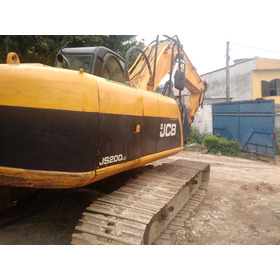 Escavadeira Hidráulica Jcb Js 200