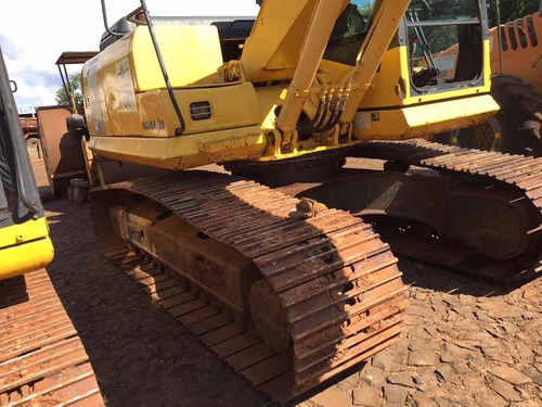 escavadeira hidraulica komatsu pc 160, ano 2011