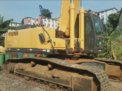 escavadeira hyundai r320lc-7 ano: 2012