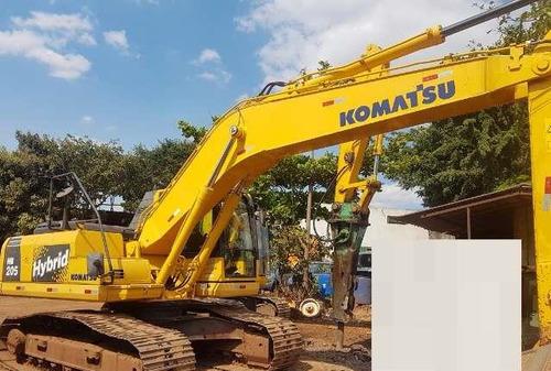 escavadeira komatsu hb205 ano: 2013