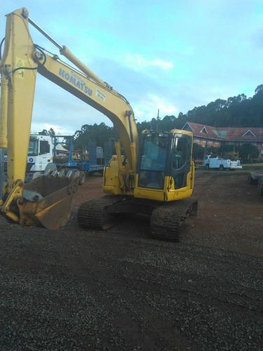 escavadeira komatsu pc 138 ano 2012