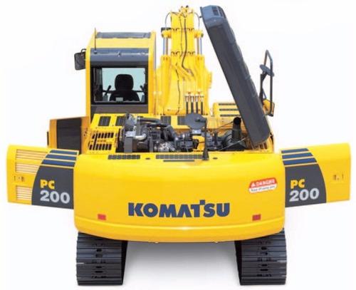 escavadeira komatsu pc 200 2017 - últimas unidades