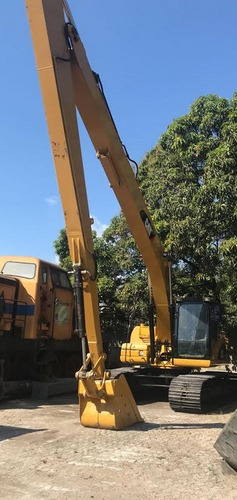 escavadeira long reach caterpillar 320dl