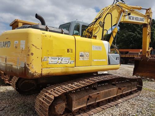 escavadeira new holland e215 b ano: 2009