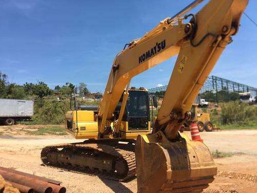 escavadeira pc 200, 2013, 4.400horas