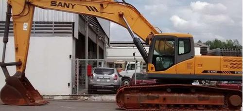 escavadeira sany sy335c ano: 2012 para 32 ton