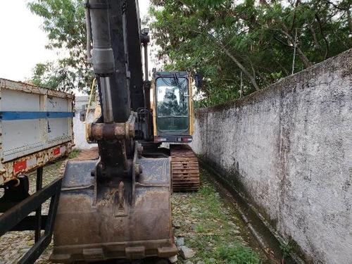 escavadeira volvo ec 210 ano 2010 horímetro 5.680