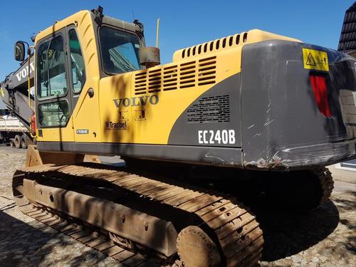 escavadeira volvo ec240blc - 2012