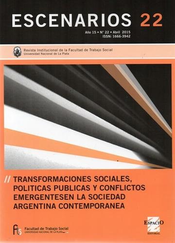 escenarios 22 sociología trabajo social (es)