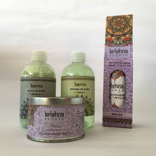 escencia, espuma, sales de baño, vela, krishna, aromaterapia