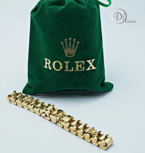 esclava brazalete rolex president jubile en oro king 1cm