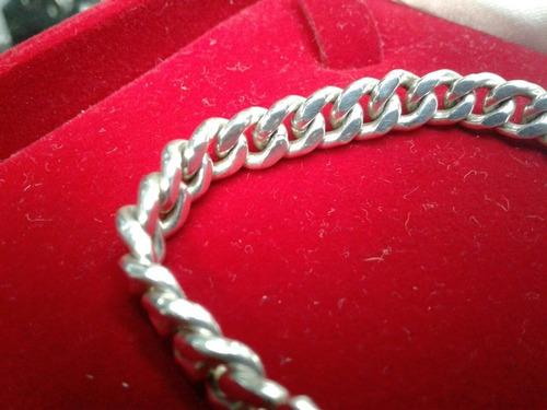 esclava de caballero elaborada en plata