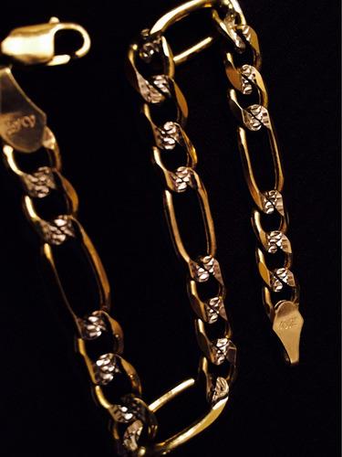 esclava de oro diamantado 10k
