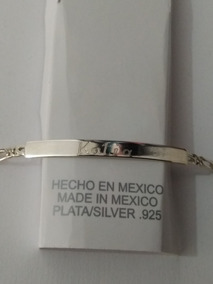 2af7f20b490e Esclavas De Oro Con Nombres - Joyería en Mercado Libre México
