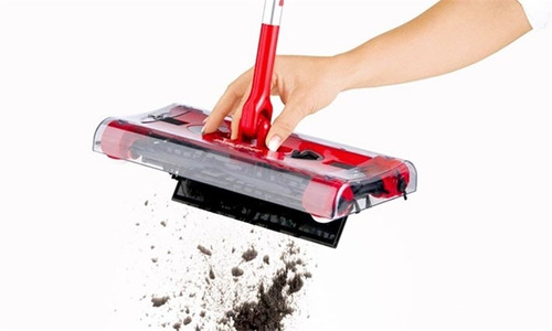 escoba barredora electrica inhalambrica swivel sweeper