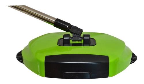 escoba barredora giratoria 2 en 1 junta polvo 360° colucci