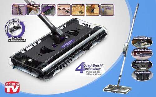 escoba eléctrica inalámbrica swivel sweeper max