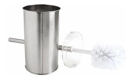 escobilla baño inodoro acero inoxidable limpieza oferta!!