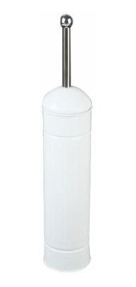 escobilla baño inodoro blanco limpieza oferta base metal