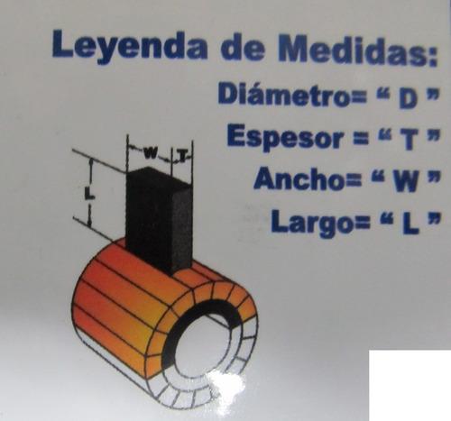 escobilla de carbón de 5x8x12 mm: esmeril takima /taladro