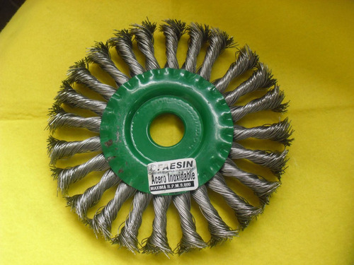 escobilla feaesin para acero inox 6  gruesa