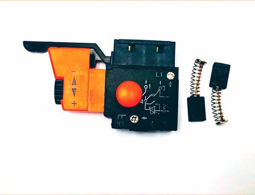 escobillas e interruptor para taladro